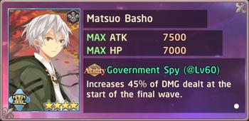 Matsuo Basho Exchange Box