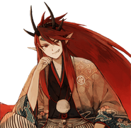 Shuten Doji Bridegroom Story Render