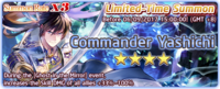 Commander Yashichi Summon Banner