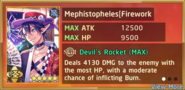 Mephistopheles Fireworks Summon Preview