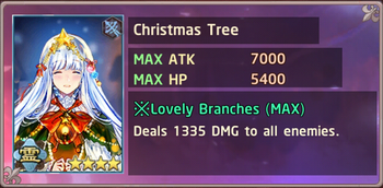 Christmas Tree Exchange Box