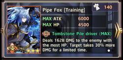 Pipe Fox Training Exchange Box