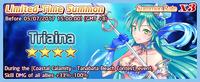 Triaina Summon Banner