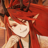 Shuten Doji Bridegroom Icon Artwork