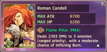 Roman Candell Exchange Box