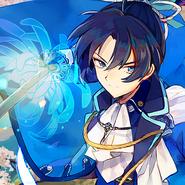 Okita Soji Blue Icon