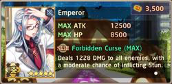 Emperor Sutoku HW2 Exchange Box