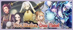Five Blades, One Thief Banner