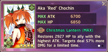 "Aka ""Red"" Chochin Christmas II Exchange Box"