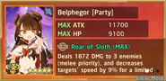 Belphegor Party Summon Preview