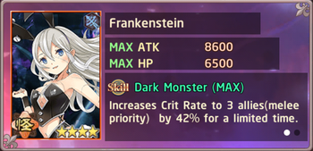 Frankenstein Exchange Box