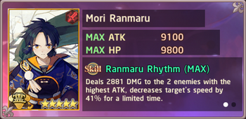 Mori Ranmaru Exchange Box