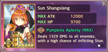 Sun Shangxiang Halloween Exchange Box
