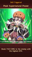 Muramasa Halloween Skill