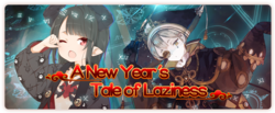 A New Year's Tale of Laziness Banner