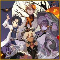 Zombilina Jack O. Lantern Hideyo Noguchi Beelzebub Halloween Square