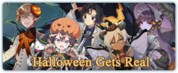 Halloween Gets Real Banner