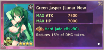 Green Jasper Lunar New Year Exchange Box