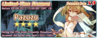 Pazuzu Summon Banner