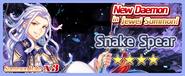 Snake Spear Summon Banner