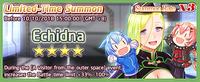 Echidna Summon Banner