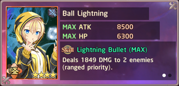 Ball Lightning Exchange Box