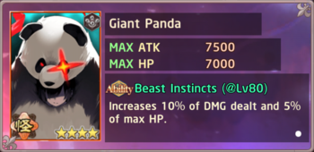 Giant Panda Untamed Exchange Box