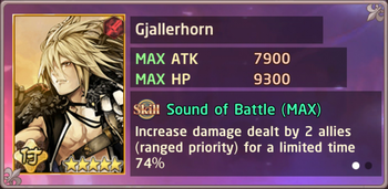 Gjallerhorn Exchange Box