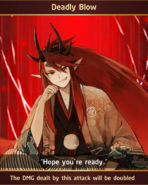 Shuten Doji Bridegroom Deadly Blow