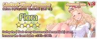 Flora Summon Banner