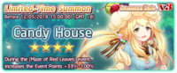 Candy House Summon Banner
