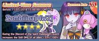 Zombilina HW2 Summon Banner