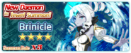 Brinicle Summon Banner