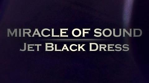 JET BLACK DRESS By Miracle Of Sound