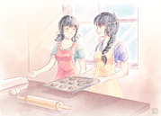 Baking with Mari