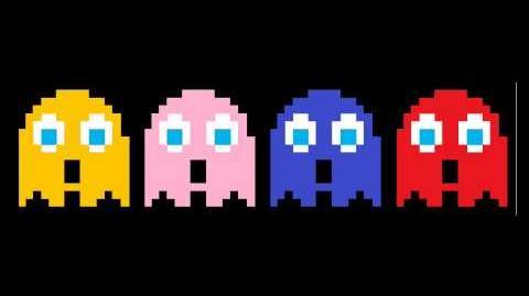 Pacman Ghosts Sing Gangnam Style