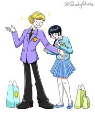 Adrien and Ana Cosplay Shopping