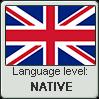 British english language level native