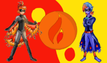 Fire Forms by Miraculka