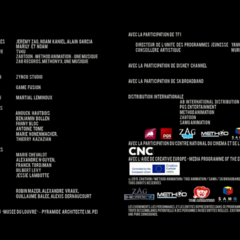 Zag's name on the Tfou version of the French credits.