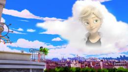 Copycat Marinette fantaseando con Adrien