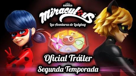 Video Miraculous Oficial Trailer Segunda Temporada Las