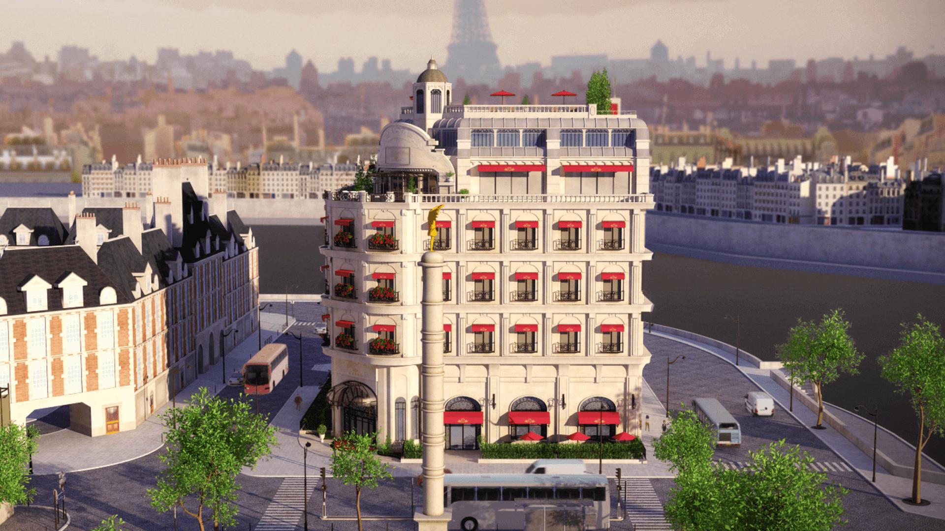 Le grand paris wikia miraculous ladybug fandom powered for Le secret hotel paris