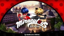 La double vie d'Adrien - Title Card