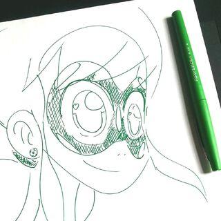 Kresba vytvořená během animační výroby třetí řady <a class=