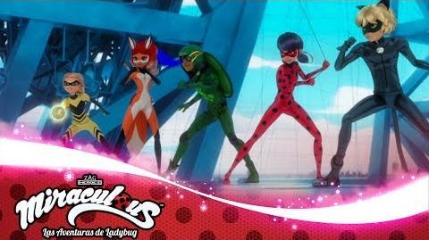 MIRACULOUS 🐞 MAYURA (El Día de los Héroes - parte 2) - Akumatizado 🐞 Las Aventuras de Ladybug-0