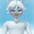 Cat Blanc Square