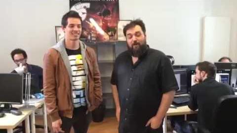 Tomás González y Thomas Astruc
