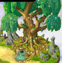 World tree-glow