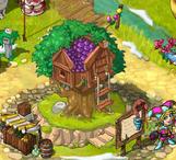Tree house village tree